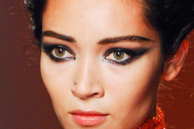 印度妆眼部画法图解