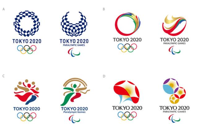 正当全城正在期待今年8月的巴西奥运会的同时,2020年东京奥运会的会徽经过早前涉嫌抄袭的风波,在重选后亦刚刚敲定落实了,决定采用由东京设计师野老朝雄的作品「组市松纹」,一贯其风格,会徽采用几个风格组成,而灵感是来自江户时代的传统「市松图案」图纹,并以日本传统颜色蓝色为主色,图案以3种不同的方格搭配而成,用以表达虽然国家、文化及思想各有差异,但绝对可以克服并且连结起来。