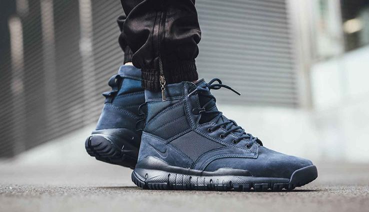 黑曜石象征下的Nike SFB,沉稳与优雅并存