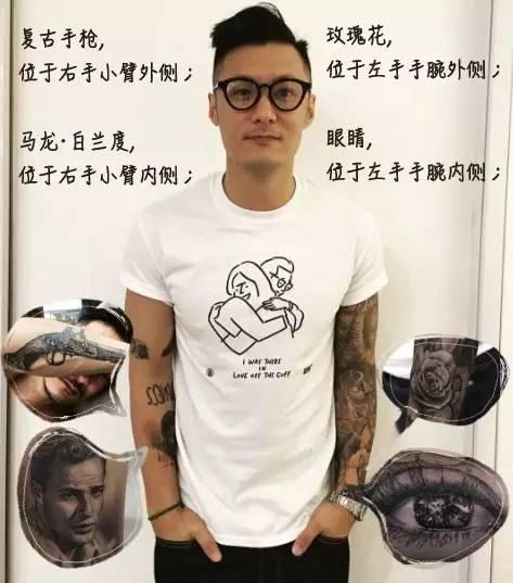 余文乐身上的纹身_新纹身背后,余文乐苦等3年才约到的这位纹身师是什么来头